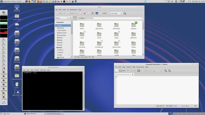 Релиз десктоп-окружения MATE 1.24, форка GNOME 2