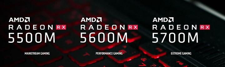 Radeon RX 5600M и RX 5700M