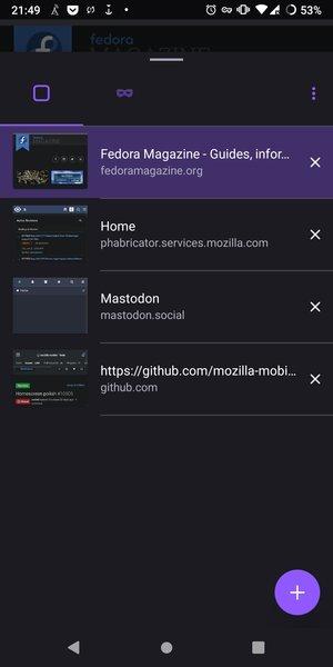 Проект Iceweasle Mobile начал развитие форка нового Firefox для Android