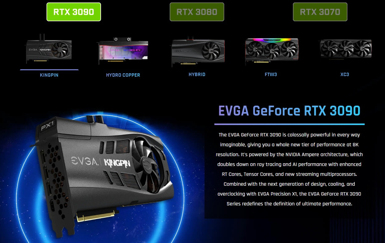 EVGA GeForce RTX 3090