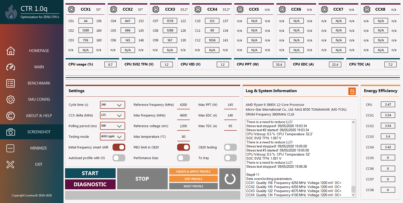 Тестирование процессора AMD Ryzen 9 3900XT на материнской плате MSI MAG B550 Tomahawk. Потенциал и секреты оптимизации