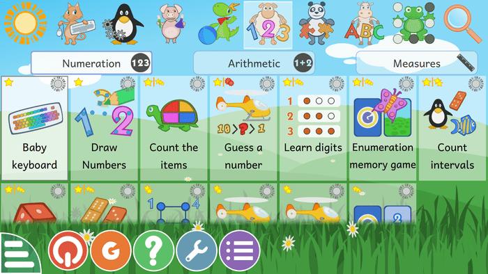 Выпуск GCompris 1.0, обучающего набора для детей от 2 до 10 лет
