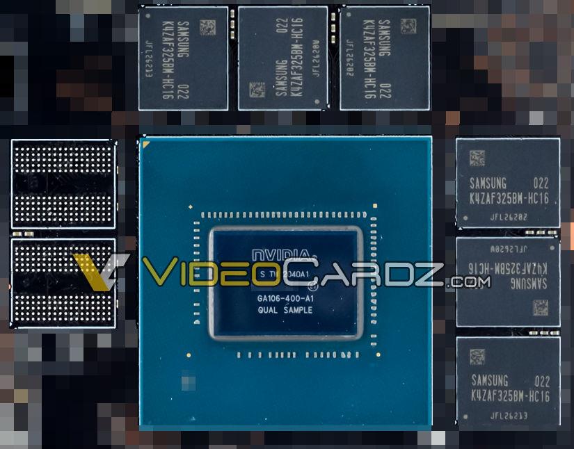 Первые новости о 8-нм графическом процессоре от Nvidia GA106