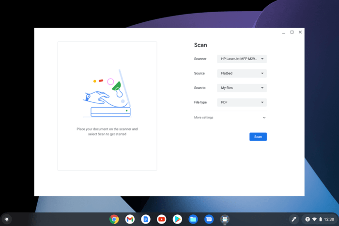 Выпуск Chrome OS 90