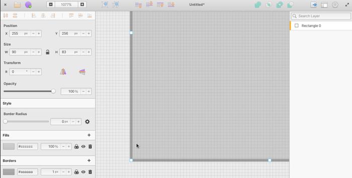 Выпуск векторного редактора Akira 0.0.14