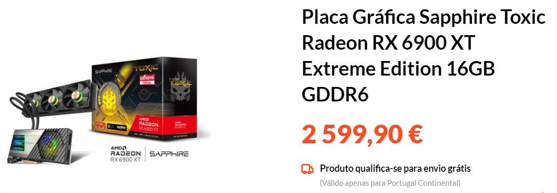 Sapphire Radeon RX 6900 XT Toxic Extreme Edition