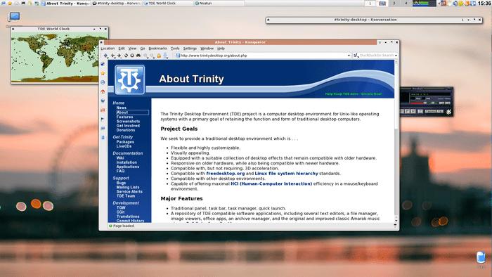 Релиз десктоп-окружения Trinity R14.0.10, продолжающего развитие KDE 3.5