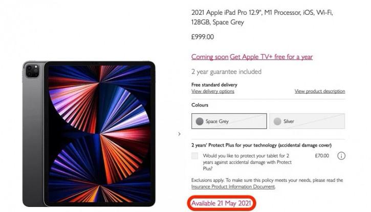 Розничная сеть случайно раскрыла дату старта продаж новых iPad Pro